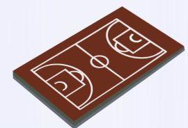 广西  丙烯酸篮球场施工专业厂家 康奇体育