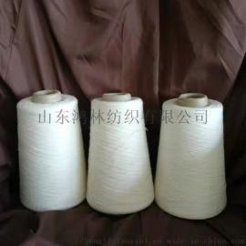 鸿林纺织生产涤粘反捻纱85/15 24支
