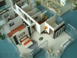 龙华手板厂3D打印建筑设计模型、手板模型