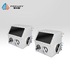 FOCUCY弗卡斯 F-SV600单人操作实验室惰性气体操作箱 锂电池304不锈钢真空手套箱 无氧无水不锈钢真空手套箱定做