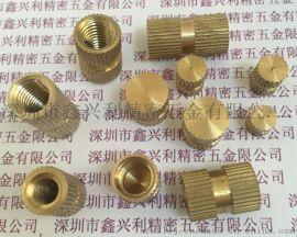 深圳 嵌装圆螺母 B型盲孔铜镶件M3/M4/M5