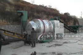高科机械日产50吨石英砂烘干机三筒烘干机