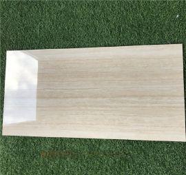 慕斯凯陶瓷釉面仿木纹线条客厅瓷砖薄板400 800