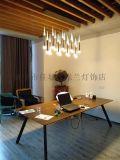 濟寧新特麗LED吊燈客廳燈飾現代燈銀河系列
