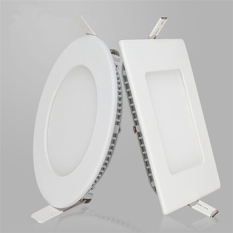25Wled面板燈 圓形壓鑄防水防霧6寸天花燈筒燈 LED防水筒燈