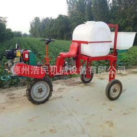 三轮玉米小麦打药机喷药机自带柴油动力马铃薯喷雾器