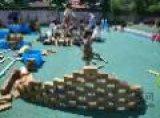 幼兒園戶外積木玩具廠家樟子鬆積木玩具