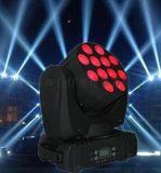 菲特TL089 LED12颗小金刚摇头光束染色灯