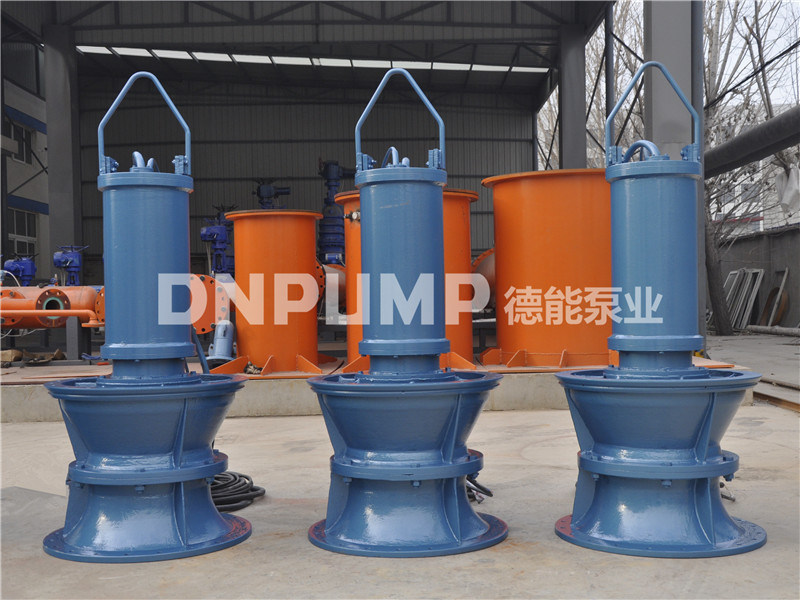 800QH-70潜水混流泵泵站安装图纸