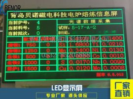 贝诺BN炉前综合参数同步显示大屏幕