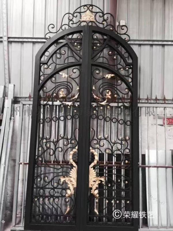 定制别墅户外大门 入户门 铁门 别墅铁门