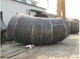 杭州焊制大口径弯头|90°虾米腰弯头|变径焊接弯头