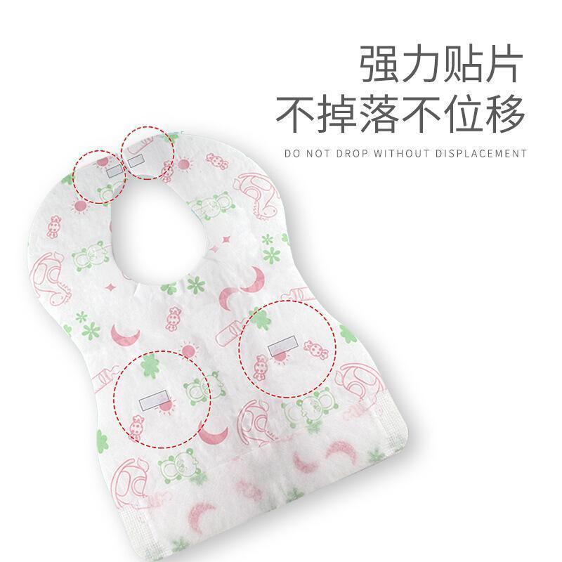 一次性圍兜兒童圍嘴防水飯兜  口水巾  便攜卡通印花oem定製
