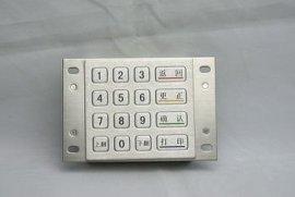 工业金属密码键盘
