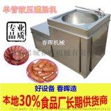 俄式风干香肠灌肠机 全自动香肠液压灌肠机