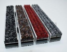 變形縫廠家制作鋁合金防塵地毯的樣式