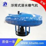 FQB1.5kw 玻璃钢浮筒离心潜水曝气机