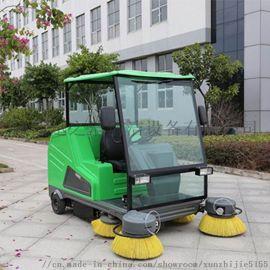 汉中小区地下车库用水泥地面清扫车玛西尔电动扫地机