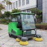 漢中小區地下車庫用水泥地面清掃車瑪西爾電動掃地機