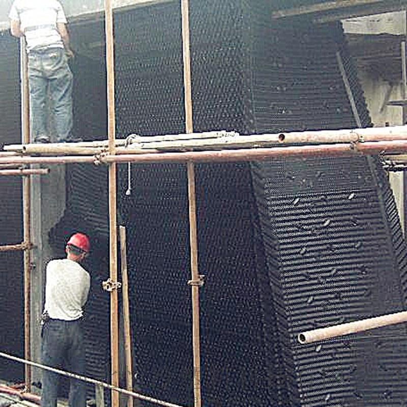 方形密闭冷却塔PVC淋水填料1000*1230