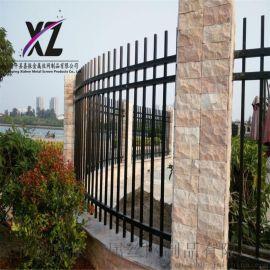 钢制围墙护栏,工地围墙防护栏,锌钢隔离护栏