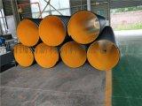 钢带增强PE螺旋波纹管生产工艺 排污用钢带波纹管