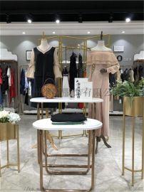 东莞时尚潮牌魅之女品牌折扣女装尾货货源艾利欧法尔莎