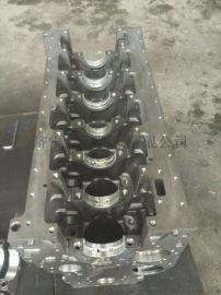 山河旋挖钻发动机缸体 康明斯QSB6.7发动机