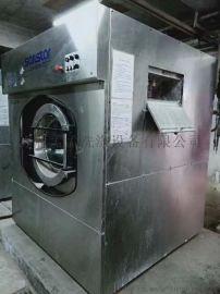 北京孟孟洗涤现有二手洗脱机二手烘干机100公斤出售