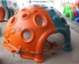 定製太空攀爬滾塑模具兒童pe太空攀爬玩具滾塑產品