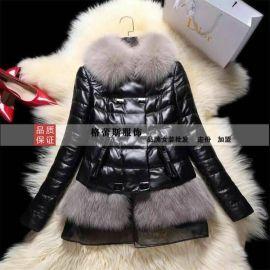 歐美品牌女裝批發 時尚高端皮草折扣 0.3折 專櫃正品 100%調換率
