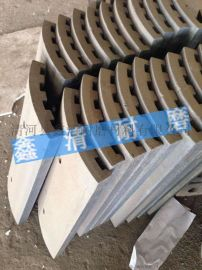 鑫清铸造 耐磨牙板 颚板  厂家直销 定制