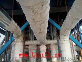 不锈钢硅酸铝管道保温施工工程