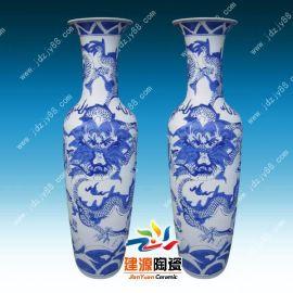 景德镇大花瓶厂家 青花瓷大花瓶批发
