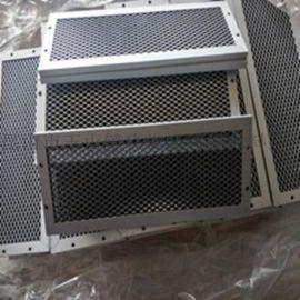 铝框初效板式打折过滤器 空气过滤器 折叠板式过滤器