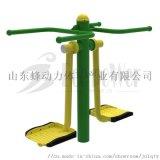 山东蜂动力体育器材厂家供应室外健身器材双位钟摆器