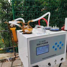 双路气体采样器自动恒流型环境空气采样器