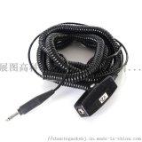 降噪耳機航空頭戴耳機配件彈簧線纜YS-C35-26