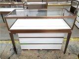 黄金店展示柜定做,不锈钢珠宝展柜制作,深圳柜台厂家