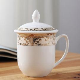银行礼品办公陶瓷杯定制