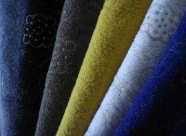 粗毛纺绣花布(RTK0940007)