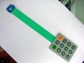 零电阻薄膜开关,低电阻薄膜按键键盘