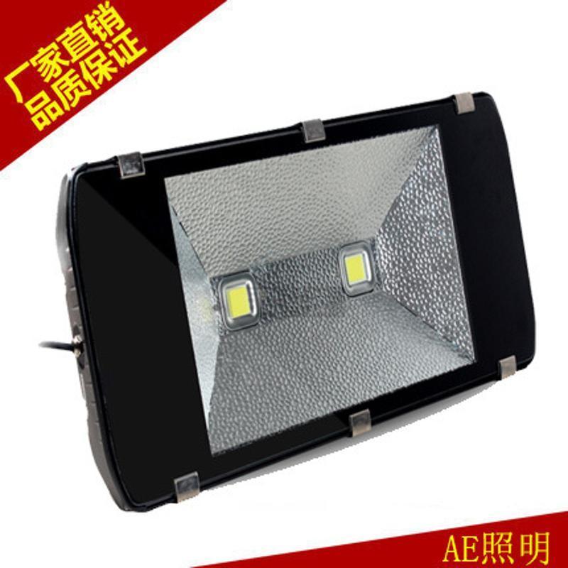 LED投光灯户外防水灯300W400W投射灯泛光洗墙灯 4芯320W正白
