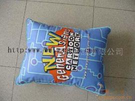 工厂生产 pvc充气枕,PVC方枕,广告枕头