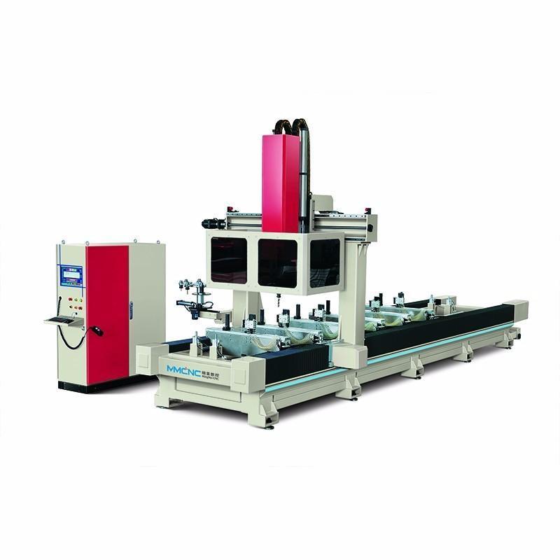 工業鋁型材數控加工中心,五軸加工中心,龍門加工中心