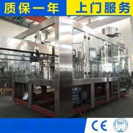 全自动三合一纯净水灌装机 瓶装纯净水灌装生产线设备