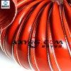 鑫翔宇红色耐高温通风耐热软风管, 硅胶高温风管