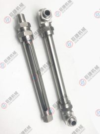 廠家直銷小型水位計 簡易液位計 不鏽鋼直通液位計 玻璃管液位計