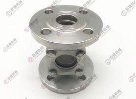 厂家直销SG-16 SG-25不锈钢 碳钢法兰直通视镜 方形视镜型号