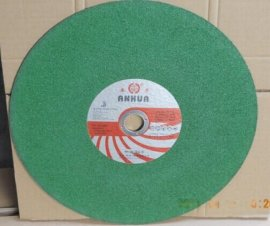 厂家直供 安华不锈钢绿色切片  不烧伤工件  锋利耐用